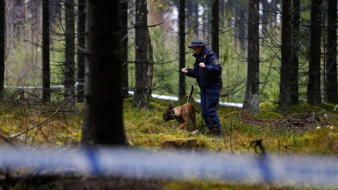 Nästan ett halvår efter mordet i motionsområdet i Ulricehamn kallar polisen till presskonferens för att informera om vad man kommit fram till. Foto: HENRIK JANSSON