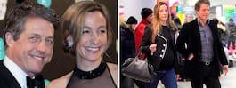 Hugh Grant gifter sig med svenska Anna, 39