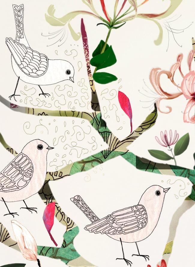 Köp exklusiva tavlor av Anna Handell hos oss