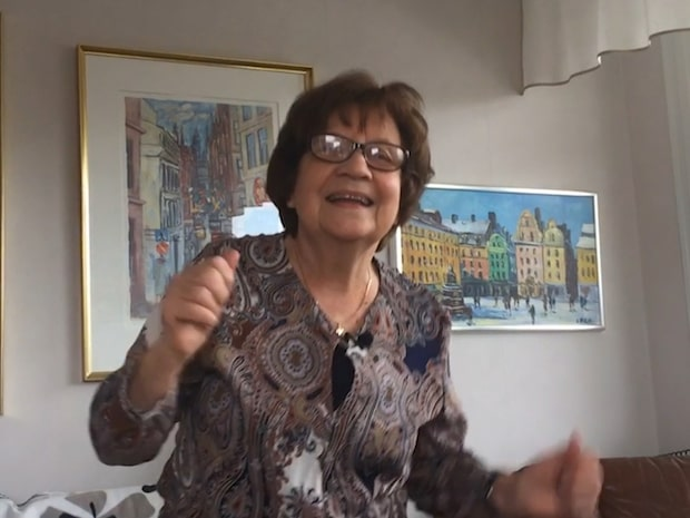 Margaretha, 78, gör succe med sina travtips