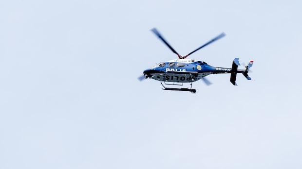 Stort polispådrag i Tuve