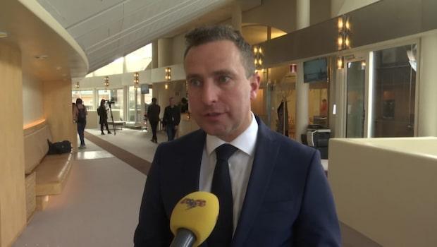 """Tomas Tobé (M) om poliskrisen: """"Det här måste vändas nu"""""""