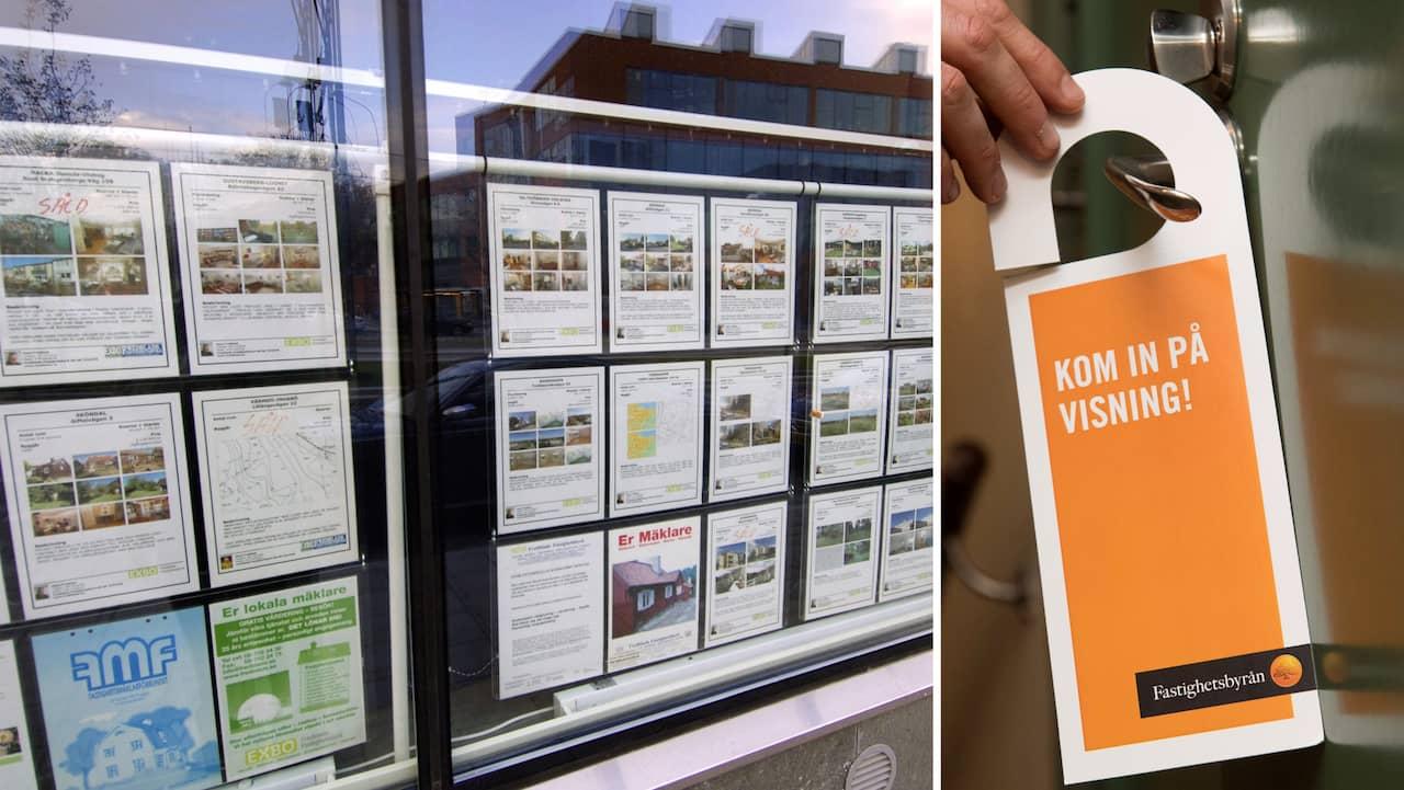 Rekordhögt utbud av bostadsrätter till salu