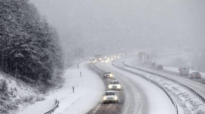 Det kalla vädret fortsätter även i början av nästa vecka. Foto: Jan Wiriden
