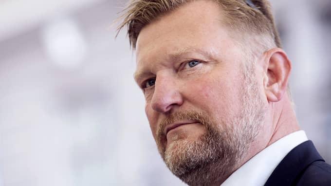 Janne Blomqvist från Viasat Motor. Foto: ERIK SIMANDER / BILDBYRÅN