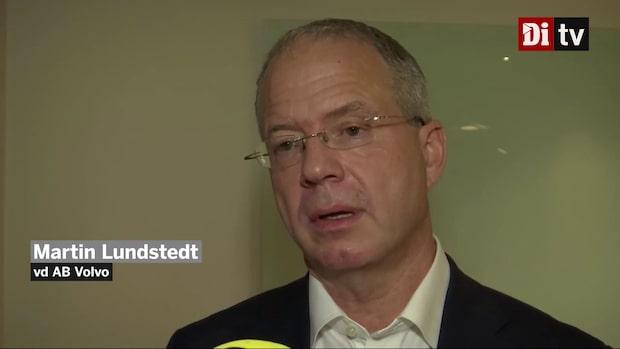 """Lundstedt: """"Ett starkt kvartal för AB Volvo"""""""