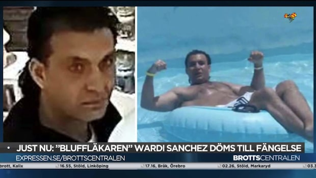 """""""Bluffläkaren"""" Wardi Sanchez lyxliv på åldringarnas miljoner"""