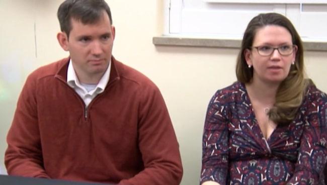 Michael och Margaret Baudinet drabbades av två missfall innan de slutligen blev gravida...med femlingar.