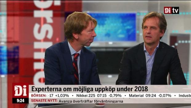 Experterna om möjliga uppköp under 2018