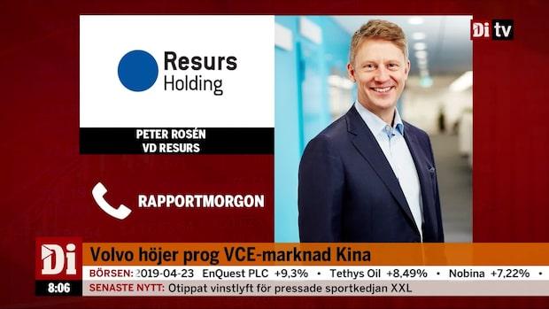 Peter Rosén om kvartalsrapporten för bolaget