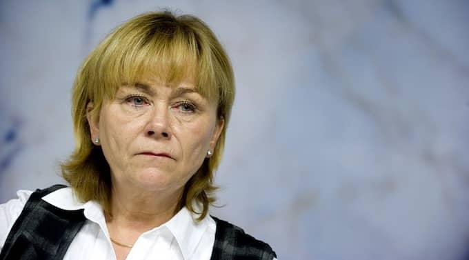Justitieminister, Beatrice Ask. Foto: Pontus Lundahl / Scanpix