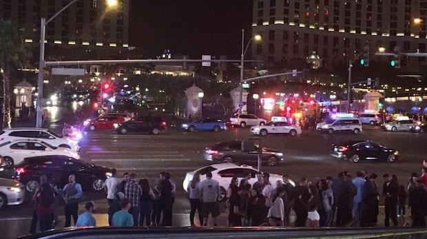 Skottlossning efter misslyckat rånförsök på Bellagio i Las Vegas
