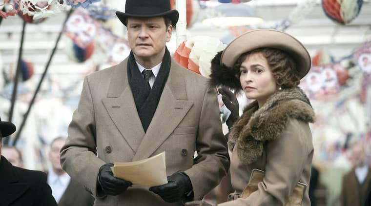"Colin Firth och Helena Bonham Carter i filmen ""King´s speech"". Foto: Weinstein Company/Splash News"
