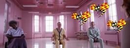 Pappasnygg Bruce Willis  på mentalsjukhus i