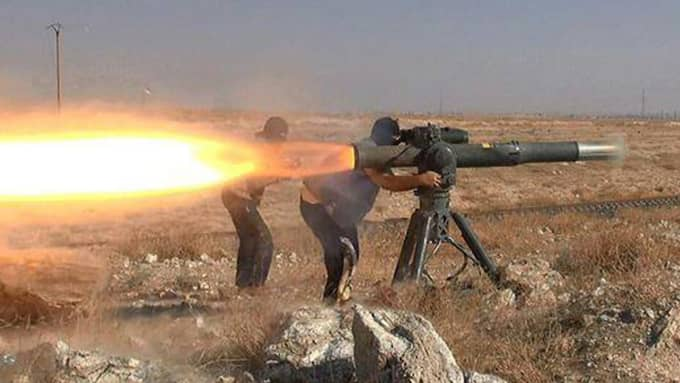 IS-terrorister i Syrien