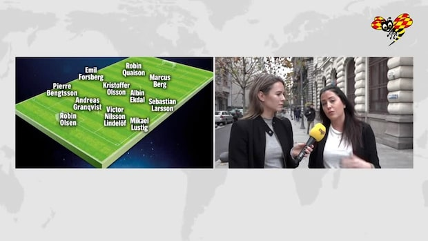 AVSLÖJAR: Så startar Sverige i EM-kvalet i kväll