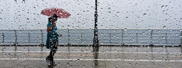 Meteorologen: Regnområde rör sig norrut över Sverige