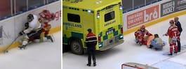 Otäcka bilder – fick  hämtas i ambulans