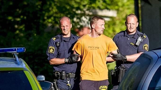 Nerijus Bilevicius har dömts till livstids fängelse för mordet på Lisa Holm. Foto: ALEX LJUNGDAHL
