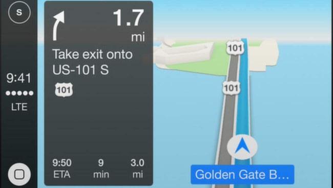 Dagens kartor från Apple spås bli mer avancerade. Många tror att Apple utvecklar ett nytt kartsystem som ska ta upp kampen med Google Steet View.