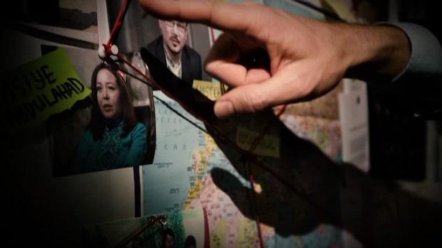 Dokument: Kina skickar skäggprydda till läger