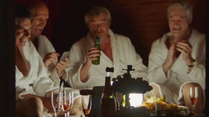 """Mikael Torving och Henrik Hjelt i senaste avsnittet av """"Grotesco"""". Foto: SVT Play"""