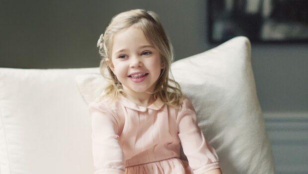 Här är nya bilderna på fyraåriga Leonore