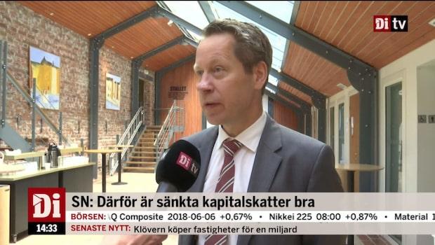 Ekonomistudion 7 juni – Svenskt Näringsliv vill sänka skatten på kapital